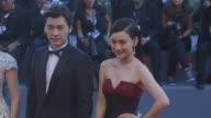 Li Yifeng Liu Hua Jing Liang Guan Hu Xu Qing Feng Xiaogang Zhang Yuxian at Closing Ceremony Red Carpet 72nd Venice Film Festival at Palazzo del...