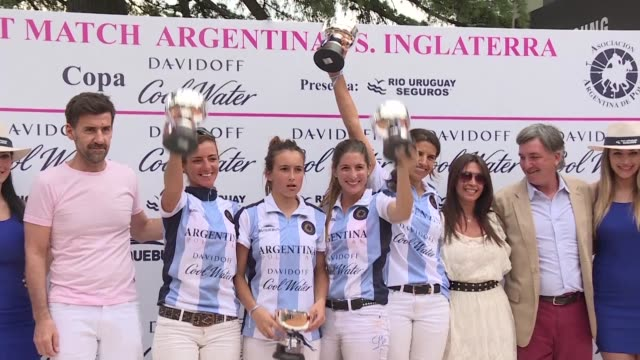 Lia Salvo is taking women's polo to the next level in her home country Argentina where the male team is world renowned