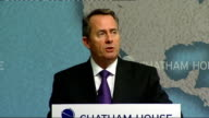 Liam Fox outlines security challenges So today I want to set out what we have achieved in Defence over the last year to set in place a longterm...
