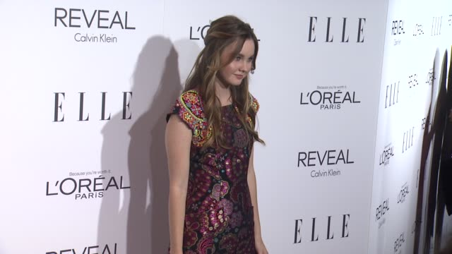 Liana Liberato at ELLE's 21st Annual Women In Hollywood Celebration in Los Angeles CA