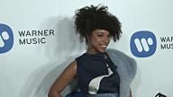 Lianne La Havas at Warner Music Group Hosts Annual Grammy Celebration in Los Angeles CA