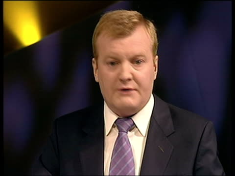 Final day LUNCHTIME NEWS U'LAY ENGLAND Brighton Charles Kennedy MP speech SOT This is supposed to be a parliamentary democracy that we're living in...