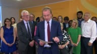 Liberal Democrat Leader Tim Farron resigns ENGLAND London INT Tim Farron MP statement SOT Talks of resigning the party leadership because of the...