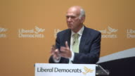 Liberal Democrat leader Vince Cable saying the British public should have a choice about whether they proceed with Brexit