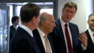 Nick Clegg and Vince Cable visit engineering plant ENGLAND West Sussex ShorehambySea PHOTOGRAPHY*** General view of engineering plant / Nick Clegg MP...