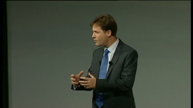 Nick Clegg keynote speech I know with this approach streamlined spending and targeted tax cuts we can get our economy going again But I don't want to...