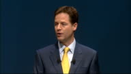 Nick Clegg keynote speech Nick CLegg speech continued SOT We will take risks in government But we will never lose our soul We haven't changed our...
