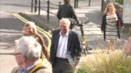Sir Vince Cable arrives ENGLAND Dorset Bournemouth EXT Sir Vince Cable MP and his wife Rachel Smith arriving at the Bournemouth International Centre...