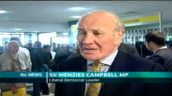 Campbell wins on green tax policy Hilton Metropole Hotel INT Sir Menzies Campbell MP interview SOT We had debate of high quality / Party decided to...