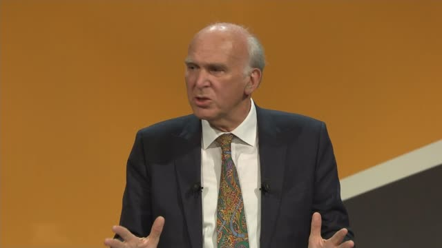 Sir Vince Cable speech Cable speech SOT