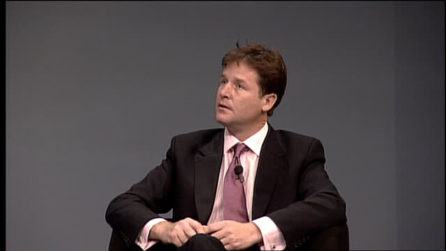 Liberal Democrats conference in Bournemouth Nick Clegg QA Nick Clegg Q I've been holding town hall meetings I spend time in a different region every...