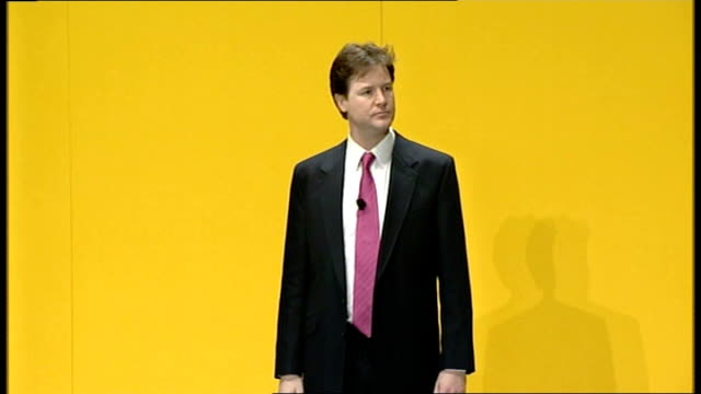 Nick Clegg delivers first major speech as leader Why is it that those ordinary families still pay more tax than the richest people in Britain today...