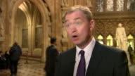 Liberal Democrats leader Tim Farron praising Speaker of the House John Bercow for his stance on US President Donald Trump