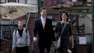 Miriam Gonzalez Durantez refuses to take part in 'leaders' wives' publicity stunts LIB ENGLAND Midlands Birmingham EXT Nick Clegg MP along and...