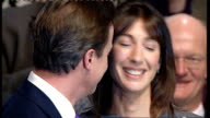 Miriam Gonzalez Durantez refuses to take part in 'leaders' wives' publicity stunts LIB INT David Cameron MP kissing his wife Samantha Cameron at...