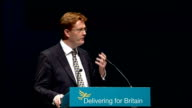 Danny Alexander speech ENGLAND Liverpool INT Danny Alexander MP being introduced SOT Danny Alexander MP speech SOT Our party has a long history And...