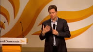 Nick Clegg question and answer session ABOUT APPRENTICESHIPS AND BEING UNFAIRNESS It is a tricky issue / The Low Pay Commission recommended there...