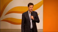 Nick Clegg question and answer session ABOUT I am 47 and when I was your age internships didn't matter as much / It matters more now it was about who...
