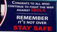 Liberia has not had a new case of Ebola in 42 days