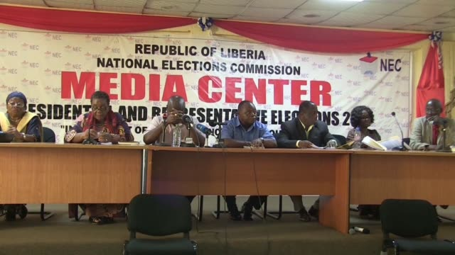 Liberia's election commission on Friday confirmed its rejection of fraud allegations over the first round of presidential elections setting the scene...