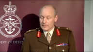 No Fly Zone Major General John Lorimer press conference Major General John Lorimer press conference continued SOT Missile attacks were called off...
