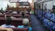 A Libyan court on Tuesday sentenced slain dictator Moamer Kadhafi's son Seif alIslam and eight other defendants to death for crimes during the 2011...