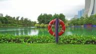 Life Buoy installed near the lake