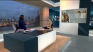 'Life Kitchen' initiative to help chemo patients ENGLAND London GIR INT Ryan Riley LIVE STUDIO interview SOT