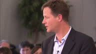 'Life takes unexpected turns' that's how Nick Clegg has described being left minding the shop at Number 10 whilst David Cameron enjoys two weeks...