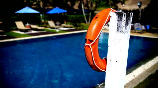 Lifebuoy at the Swimming pool