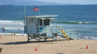 Lifeguard house in 4K