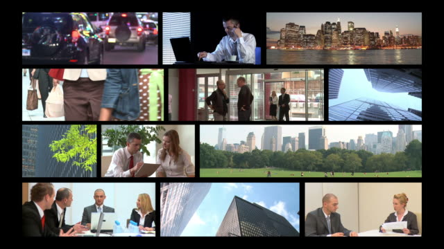 HD MONTAGE: Lifestyle of Business People