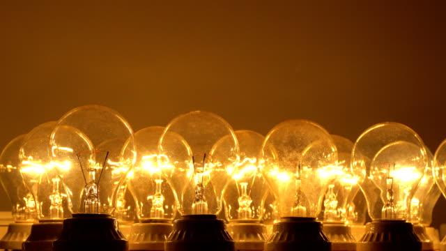 PR Light Bulb on and off , light become dark