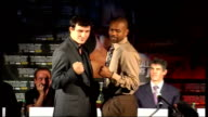 Joe Calzaghe v Roy Jones Jr buildup interviews INT Joe Calzaghe interview SOT Feeling good couple of days away from big fight feel in great shape...