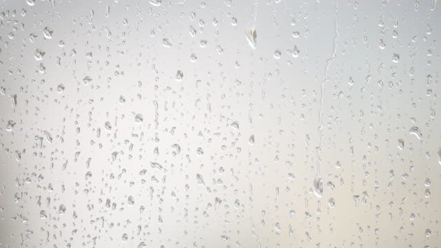 HD light rain on window