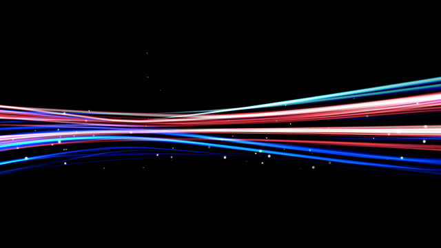 HD Light streaks abstract background animation (Loop)
