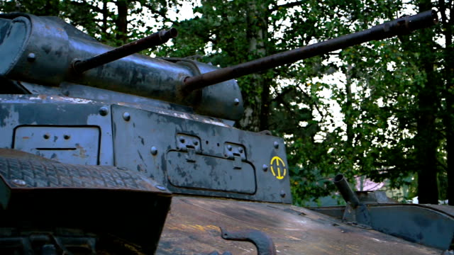 Light tank of WW II times