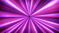 Light tunnel Purple