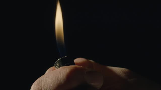 Lighter igniting