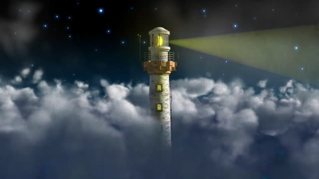 Lighthouse and Clouds HD