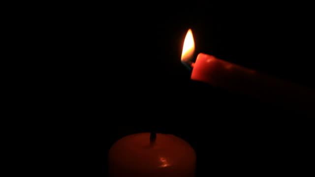 Beleuchtung Kerze.