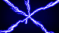 Lightning across screen