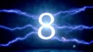Lightning countdown.