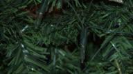 Lights of Christmas tree HD