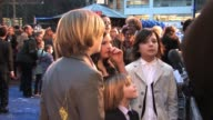 Lil Woods Oscar Steer Eros Valhos Rosie TaylorRitson and Asa Butterfield at the Nanny McPhee and the Big Bang World Premiere at London England