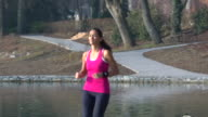 Liliana's Run Toward and Smile 3 - Panning