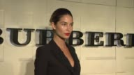 Lily Aldridge at the Burberry Body Launch at Beverly Hills CA