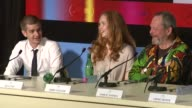 Lily Cole and Andrew Garfield on working on the film and on multiple actors playing the same character at the Cannes Film Festival 2009 The...