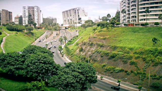 Lima Peru freeway