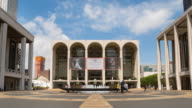Lincoln Center courtyard